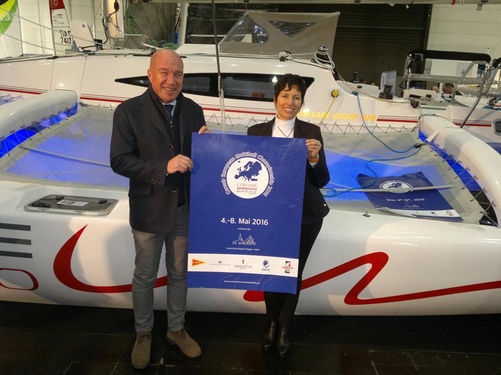 Fortunato Moratto & Loredana Cimigotto von Marina San't Andrea mit CEMC 2016 Poster